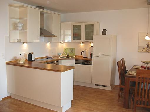 Wohnung 11 / Küche / Ferienwohnung Wiek auf Rügen, Fewo ...